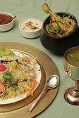 Biryani - An Indian rice dish made with rice, spices and a combination of vegetables or meat — Stock Photo
