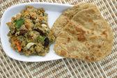 Dal mash is a lentil preparation — Stock Photo