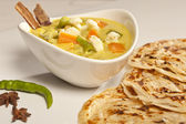 Hot and spicy butter Paneer Malsala. — Stock Photo
