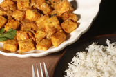 Paneer Korma - Cottage cheese cubes in rich gravy — Stock Photo