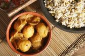 Tamarind Potatoes - Stuffed Potatoes in Tamarind Sauce — Stock Photo