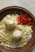 Gushtba meatballs from India — Stock Photo
