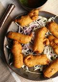 Makki Paneer Pakoda - a snack from Rajasthan — Stock Photo