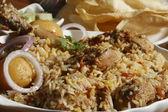 Sindhi Biryani - A Non-veg dish Sindhi cuisine — Stock Photo