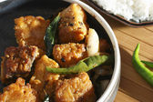 Chepala Vepudu - a popular Fish fry from Andhra — Stock Photo