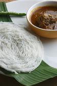 Idiyappam - String hoppers - a culinary specialty in Kerala. — Stock Photo