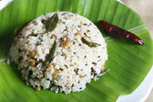 Rice upma is delicious food from Tamilnadu. — Stock Photo