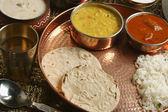 Bhakri - a flatbread made of Jowar from Gujarat. — Stock Photo