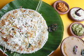 Paneer dosa - A pancake made with cottage cheese — Stock Photo