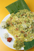 Tomato Dosa - A spicy pancake from South India — Stock Photo