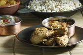 Chettinad kuřecí - kuřecí příprava z regionu chettinad — Stock fotografie