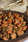 Nawabi curry is a rich Mughlai curry — Stock Photo