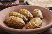 Machh mutton kofta is a kashmiri dish — Stock Photo