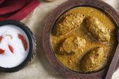 Machh mutton kofta is a kashmiri dish — Stock Photo