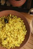 Hyderabadi Khichdi - an Indian or South Asian rice dish — Stock Photo