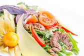 Meat salad — Stock Photo