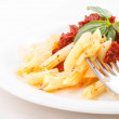 Pasta penne rigate with copyspace — Stock Photo #44134807