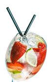 çilek kokteyli — Stok fotoğraf
