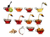 Tea time concept — Stock Photo