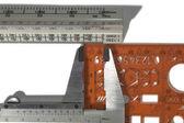 Inaccurate measurement tools — Stock Photo