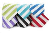 Cravate de luxe sur fond blanc — Photo
