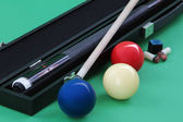 Carom balls — Stock Photo