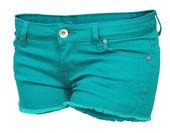 Women's jeans Shorts — Stock Photo