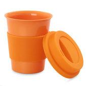 Plastikowy kubek koloru — Zdjęcie stockowe
