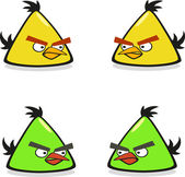 Angry birds — Stock Vector