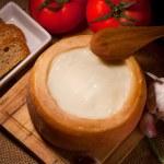 Cheese Torta del Casar — Stock Photo