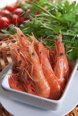Cooked prawn — Stock Photo