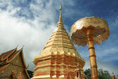 Gold Pagoda — Stock Photo