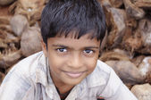Boy smiling in Kerala, India — Stockfoto