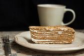Torta de miel — Foto de Stock