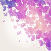 φόντο με πεταλούδες — Διανυσματικό Αρχείο