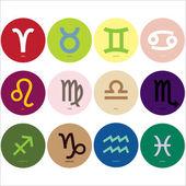 Horoscoop tekenen — Stockvector