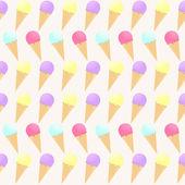 Ice cream — Stok Vektör