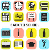 Back to school. — Stock Vector