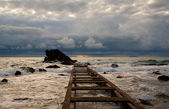 CLOUDS ON THE TUSCANY SEA — Foto de Stock