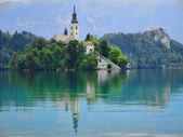BLED SLOVENIA — Stock Photo