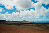 Natural park Timanfaya — Stock Photo