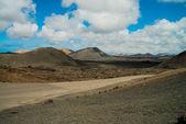 View at Lanzarote natural park — Stock Photo