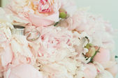 Beautiful wedding bouquet — Foto Stock