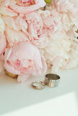 Beautiful wedding bouquet — Stockfoto