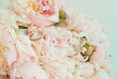 Beautiful wedding bouquet — Stok fotoğraf