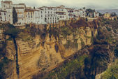 Ronda canyon. Province of Malaga, Spain — Foto de Stock