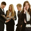 Group of businesspersons call — Stock Photo #43828551