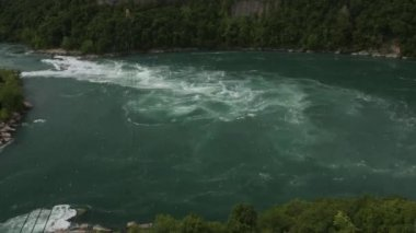 The Whirlpool Rapids, Niagara Falls, Canada — Vídeo Stock