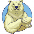 White Bear — Stockvector  #41016855