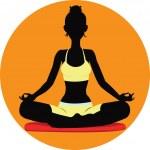 Meditating — Stock Vector #41017629